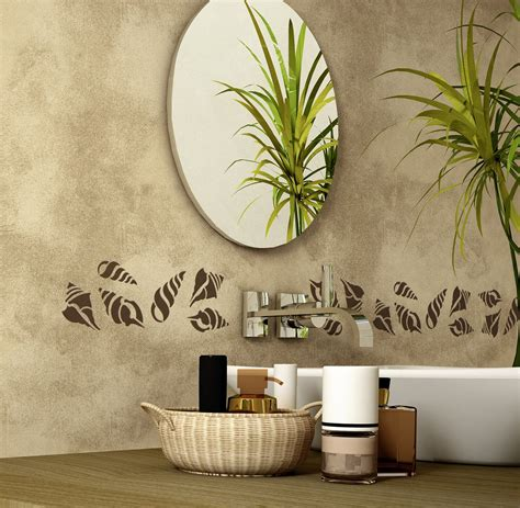 stencil bagno ristrutturare il bagno dalle piastrelle allo