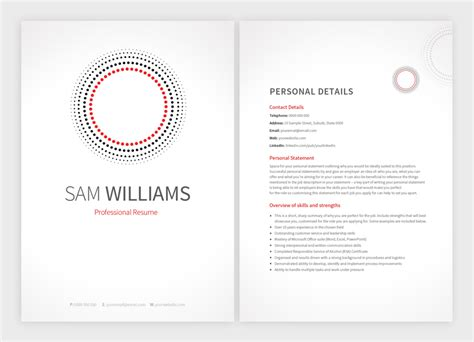 Matching Cover Letter And Resume Templates 8 New Resume Templates With Matching Cover Letters Resume