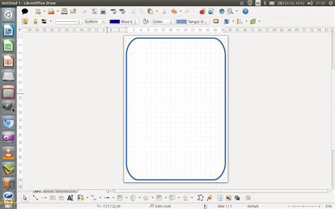 desain tempat mading desain dan cetak mading dengan libreoffice draw panduan