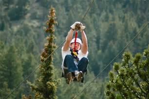 Colorado zip line adventures denver idaho springs