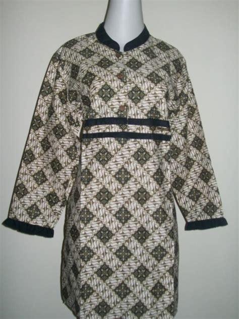 D 028 Vshape Dress Dress Wanita blus batik lengan panjang bahan katun dingin cp028 sold