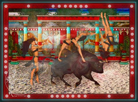 Dance Wall Murals bull dance commissoned piece by gina marie on deviantart