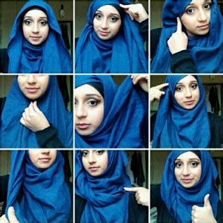 tutorial hijab umi pipik tutorial hijab simple terbaru 2017