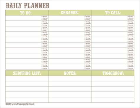 home improvement project planner