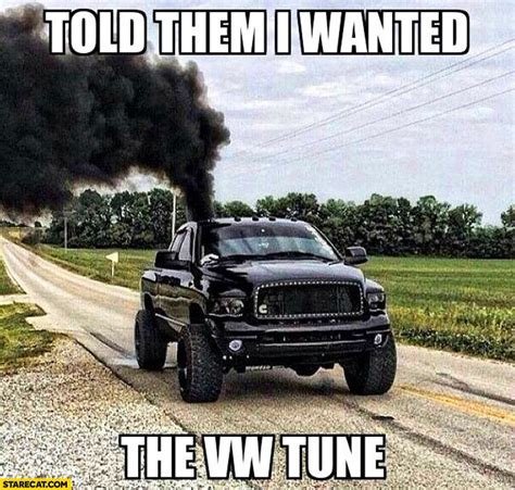 volkswagen diesel smoke told them i wanted the volkswagen tune pickup diesel black