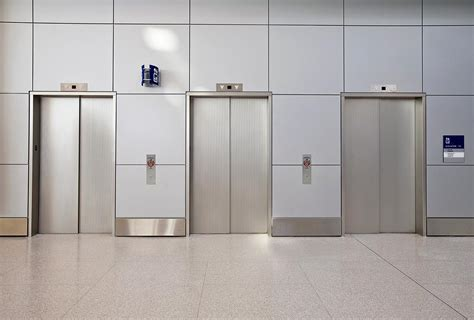 Concrete Decor by Stainless Steel Elevator Doors Architectural Forms