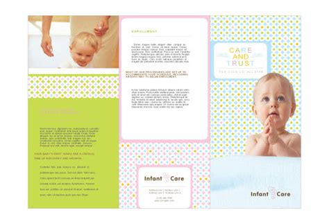 Babysitting Infant Care Print Template Pack From Serif Com Babysitting Brochure Template