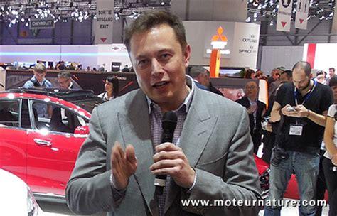 Tesla Motors Elon Musk Elon Musk Choisit Le Type 2 Pour L Europe Mais Ne Donne