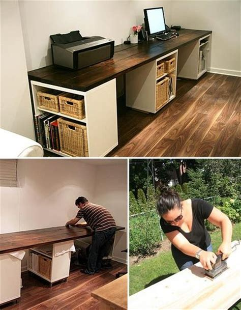 Pinterest Diy Desk Cool Diy Desk