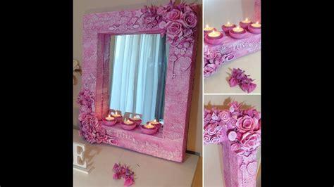 decorar un espejo con papel diy espejo espectacular 161 161 161 con cart 243 n foami y mas