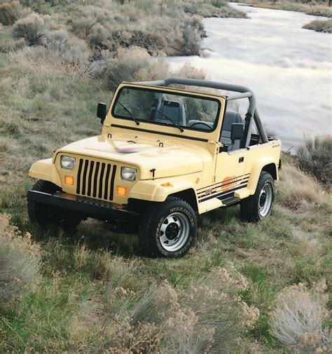 jeep ranger jeep 174 heritage 1986 1995 jeep wrangler yj the jeep blog