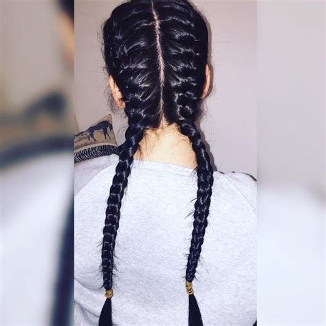 hairstyles two braids fishtail braid for black women hairstylegalleries com