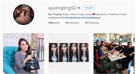 Tas Ransel Lucu Pevita 10 artis indonesia dengan follower terbanyak di instagram