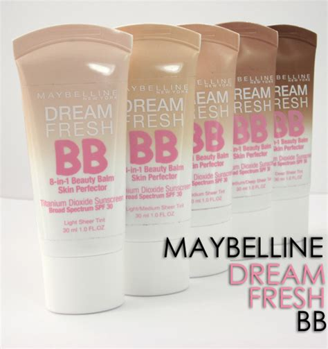 Maybelline Fresh the best drugstore bb creams on the market the lovely guide