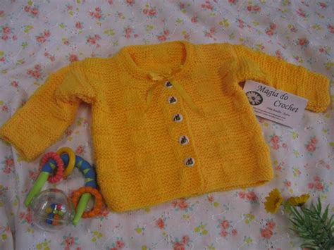 magiadocrochet blogspot magia do crochet casaco em tricot para beb 233 e envoltas
