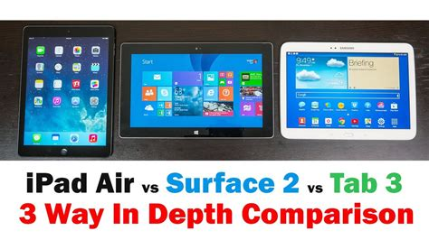 galaxy tab 3 vs doodle 2 apple air vs microsoft surface 2 vs samsung galaxy