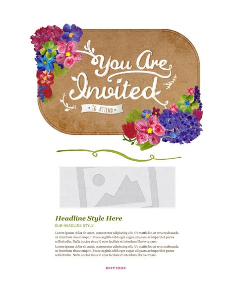 email invitations invitation email marketing templates invitation email
