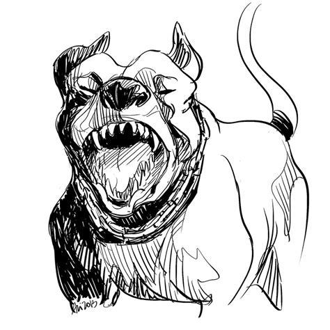 pitbull by archidisiac on deviantart