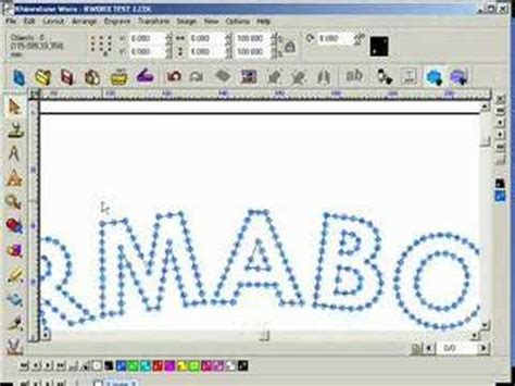 text layout software rhinestone machine design software text tools ii youtube