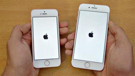 iPhone 7 vs iPhone SE   Speed Test! (4K)   YouTube