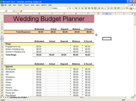 Wedding Budget Spreadsheet by Sle Wedding Budget Worksheet Sle Wedding Budget