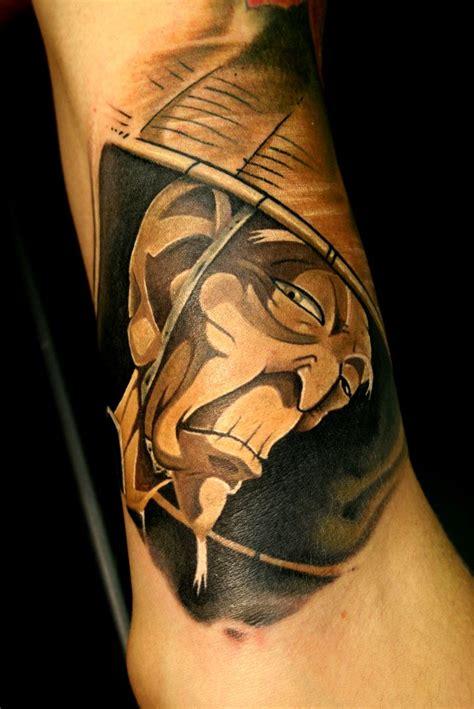 ninja tattoo scroll by rodrigo
