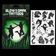 glow in the dark moustache tattoos glow in the dark clothes glow wear glowsticks co uk