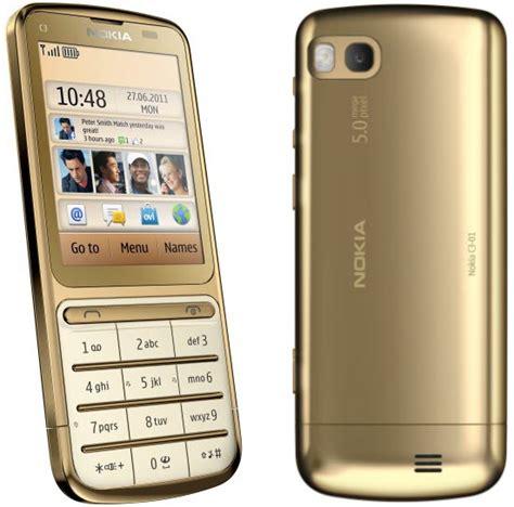 Hp Nokia C3 01 Gold Edition nokia c3 01 gold edition dengan prosesor 1ghz dan balutan emas 18 karat yangcanggih