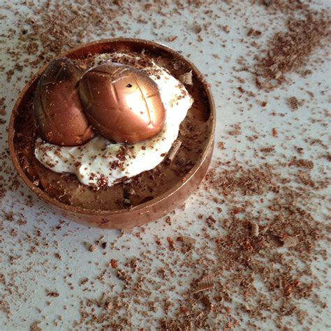 chocolate mousse copper caps