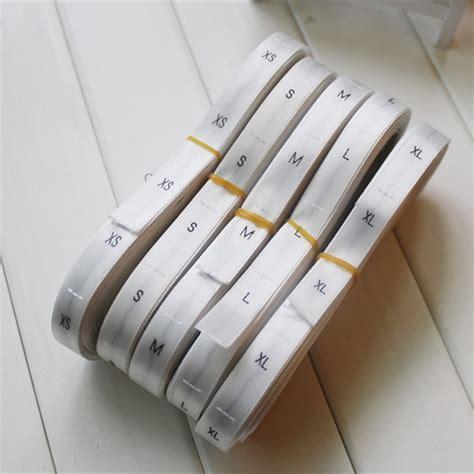 Size Label Rajut Polyester Hitam S buy grosir kain tag dicetak from china kain tag dicetak penjual aliexpress