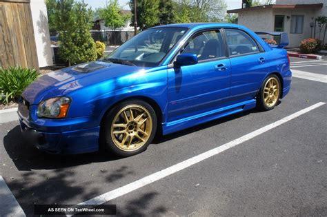 2004 Subaru Wrx Specs by 2004 Subaru Impreza Wrx Sti Engine Specs
