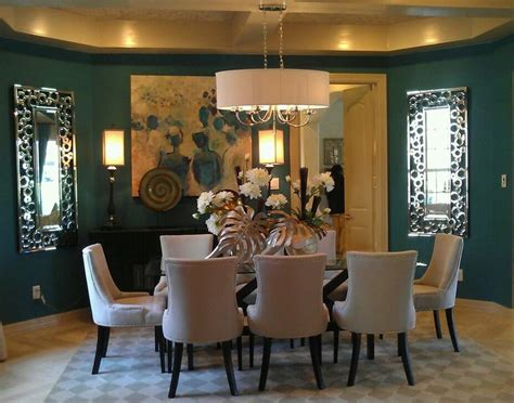 Teal Dining Room Ideas teal dining room walls design inspirations