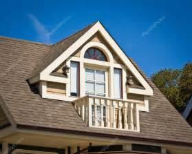 What S A Dormer Dormer Balcony Style Stock Photo