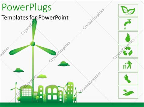 powerpoint templates free ecology powerpoint template green and ecology city with various