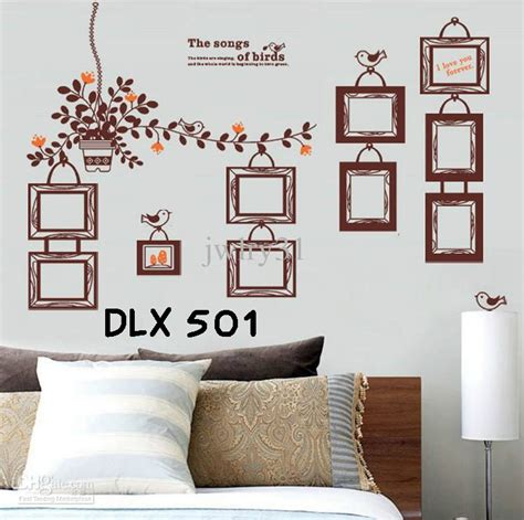 Stiker Kulkas 2 Pintu Motif Telor C jual wallsticker uk 60x90 wall stiker frame coklat the song of birds dina wallsticker