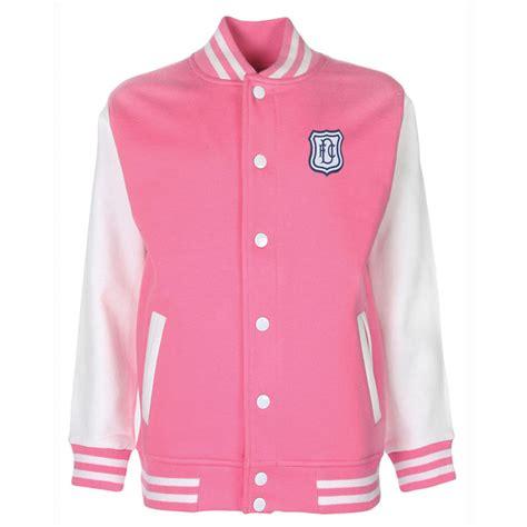 Jaket Pink varsity jacket pink