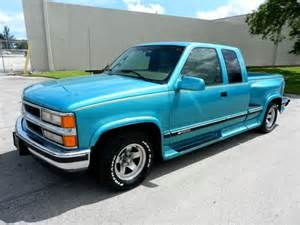 find used 1996 chevy silverado 1500 extended cab flareside loaded leather ground in
