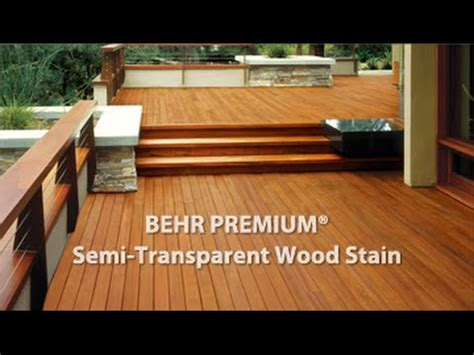 Premium Semi Transparent Weatherproofing Wood Stain Youtube