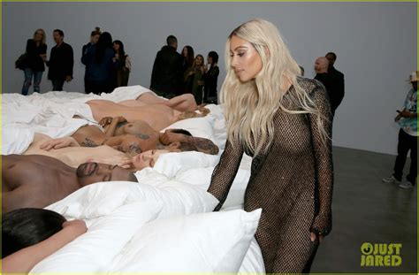 kanye west in bed kanye west opens art gallery featuring his famous bed