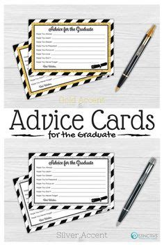 graduation words of wisdom card templates graduation advice cards instant graduation