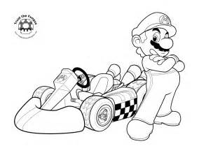 coloring pages free mario kart coloring pages free large images