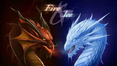 Fire Dragon Vs Ice Dragon Wallpaper   Wallpaper Studio 10