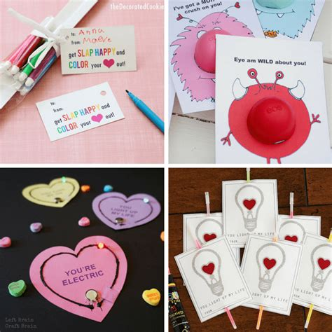 college valentines day ideas a roundup of s day school card ideas for
