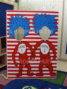 dr seuss home decor thing 1 and thing 2 thing 2 thing 2 prop dr by aproperparty