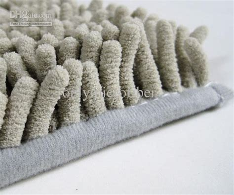 Microfiber Chenille Bath Rug Luxe Microfiber Chenille Bath Rug Pin By Friendly Grovedogs On Salon Ideas Chenille