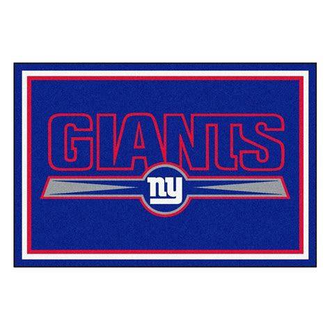 fanmats new york giants 5 ft x 8 ft area rug 6593 the