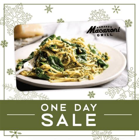 Macaroni Grill Gift Card Value - macaroni grill gift card deal 25 off bonus card dec 12 only bargains to bounty