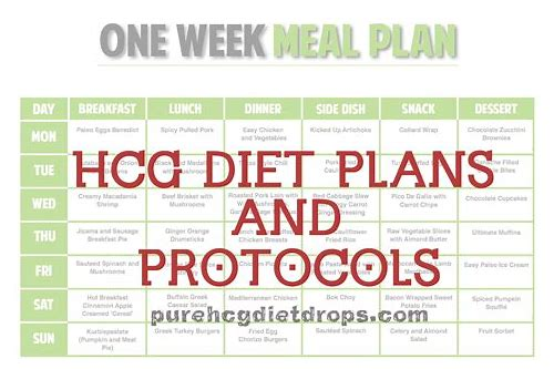 hcg diet plan free download
