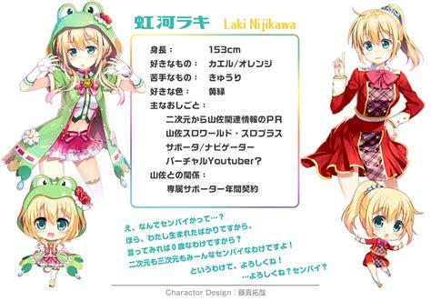 laki laki nijikawa laki laki station zerochan anime image board