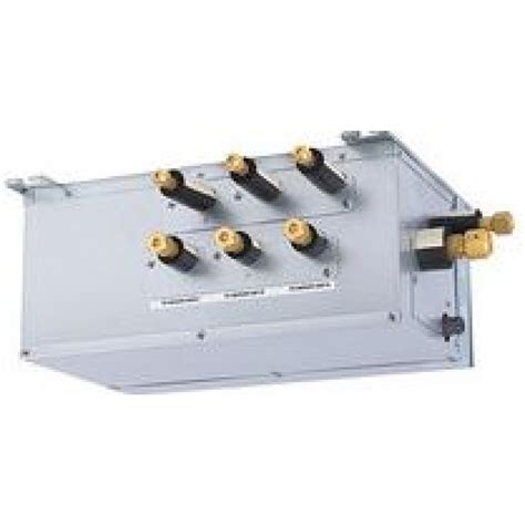 mitsubishi hyper heat branch box 3 ports in ductless ac